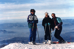Spanish and Skiing in Granada