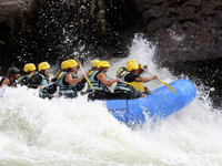 Spanish & white water rafting